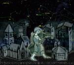 Средневековый город. Ночь. Музыка