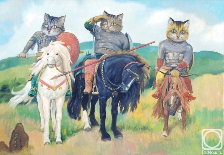 картина трёх богатырей: