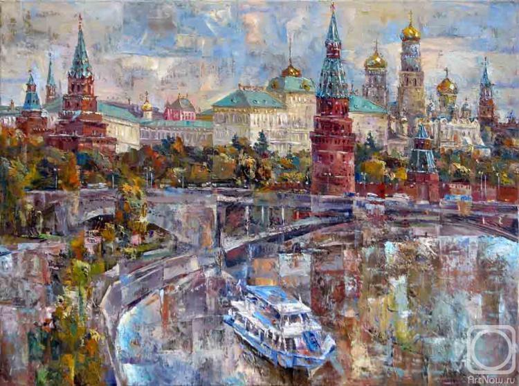 Колоколов Антон. Осенний Кремль