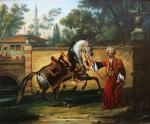 Demonstration of the arabic horse. Galimov Azat