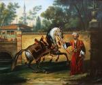 Показ арабского жеребца