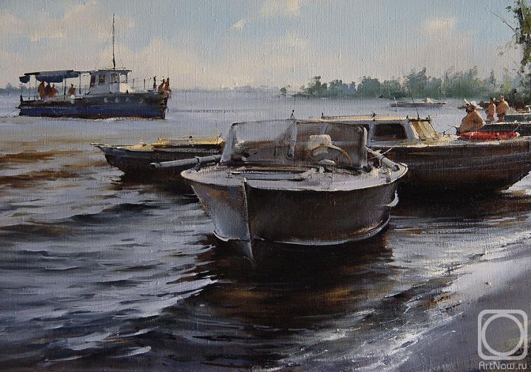 Курсеев Вячеслав. На Волге (фрагмент)