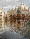 Galimov Azat. Piazza San Marco. City on the water