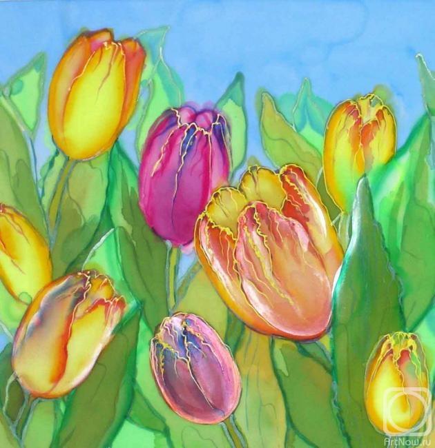 Хромых Наталия. когда цветут тюльпаны (fragment)