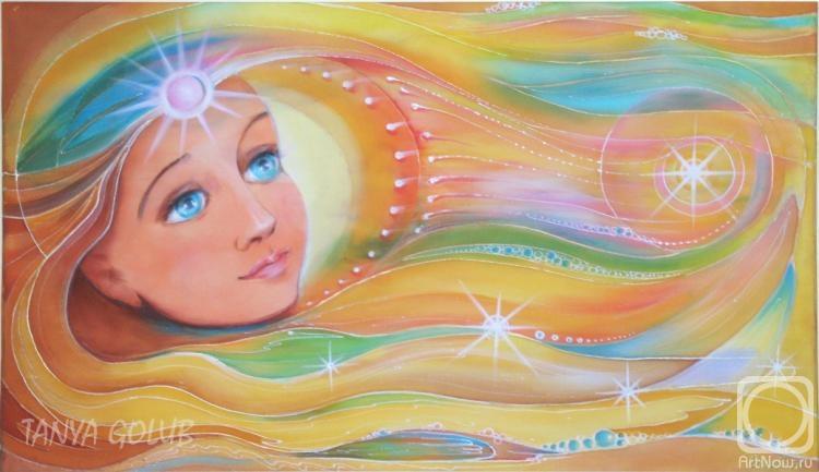 Голубь Татьяна. Солнечный ветер