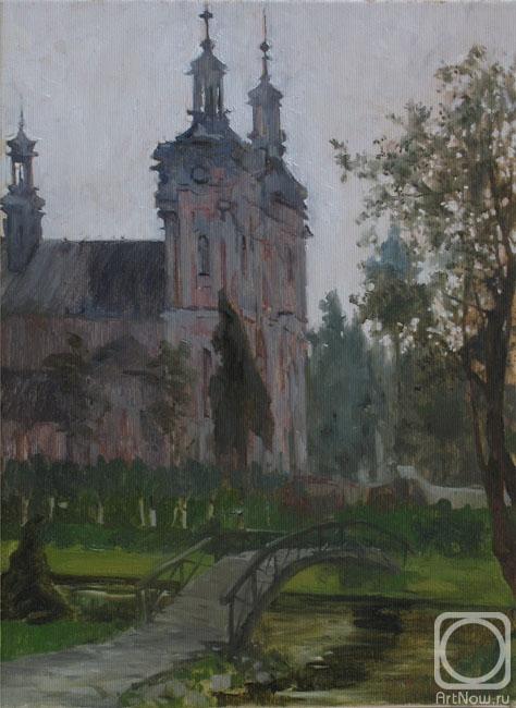 Католические церкви в картинах художников