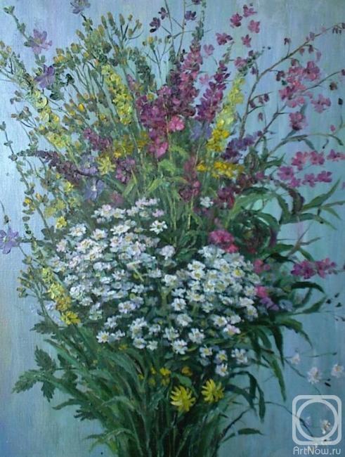 Художника натюрморт полевые цветы