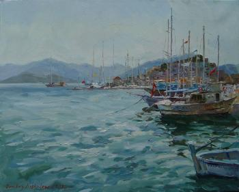 Marmaris seaside street. Kostylev Dmitry