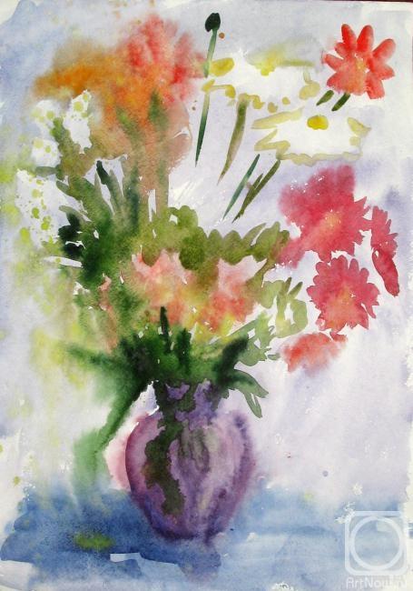 Картины художника цветы в вазе