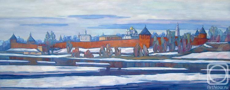 Саулов Олег. Новгородский кремль