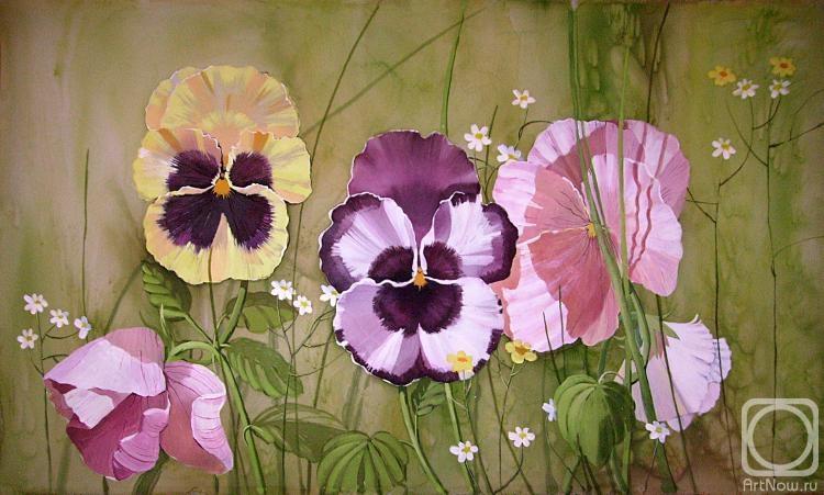 Toropova Olga. Violets