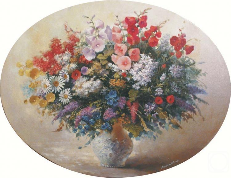 Картины художника полевые цветы