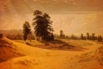 "copy I.I.Shishkin ""The Sands"". Marchenko Jana"
