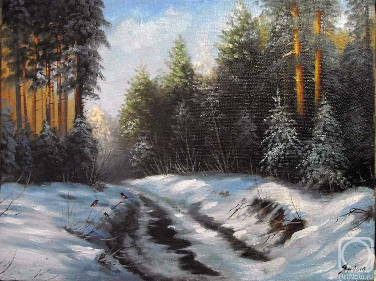 Пейзажи и натюрморты художника Геннадия Янулевича ... Осеннее Утро В Городе