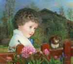 Child Vasily and small fiber. Panin Sergey