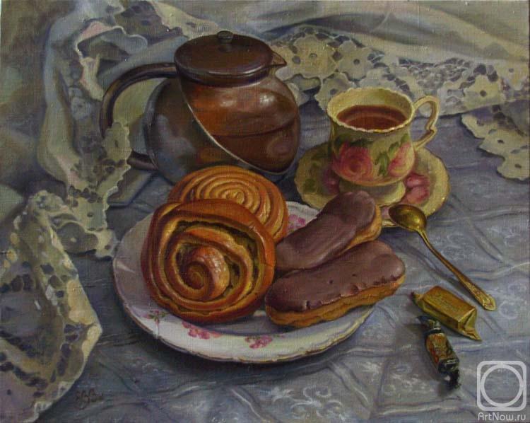 Шумакова Елена. Чай и пирожные
