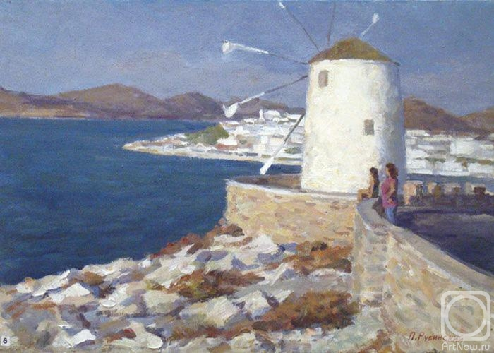 Rubinsky Pavel. Greece. Paros island. The old mill
