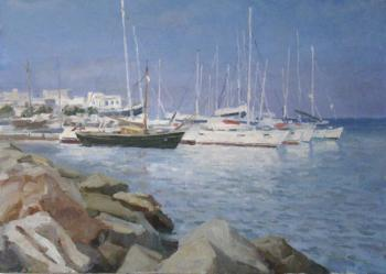 Greece, Paros Island. At a mooring. Rubinsky Pavel