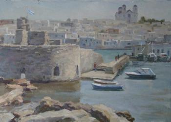 Rubinsky Pavel. Greece, Paros island. Hot day. The Venetian fortress
