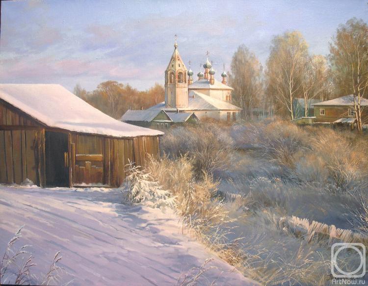 Палачев Вячеслав. Февральское солнце