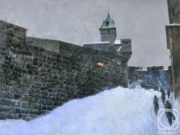 Painting Quebec City Wall Buy On Artnow Ru
