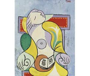 """Продажа картины Пикассо """"Чтение"""" на аукционе Сотбис принесла 25 млн. фунтов стерлингов"""