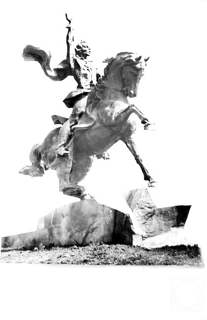 Чистяков Юрий. Макет конной статуи полководца А.Суворова