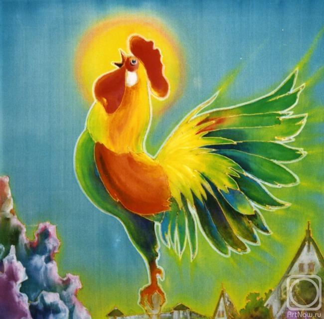 Маврычева Любовь. Петушок - золотой гребешок