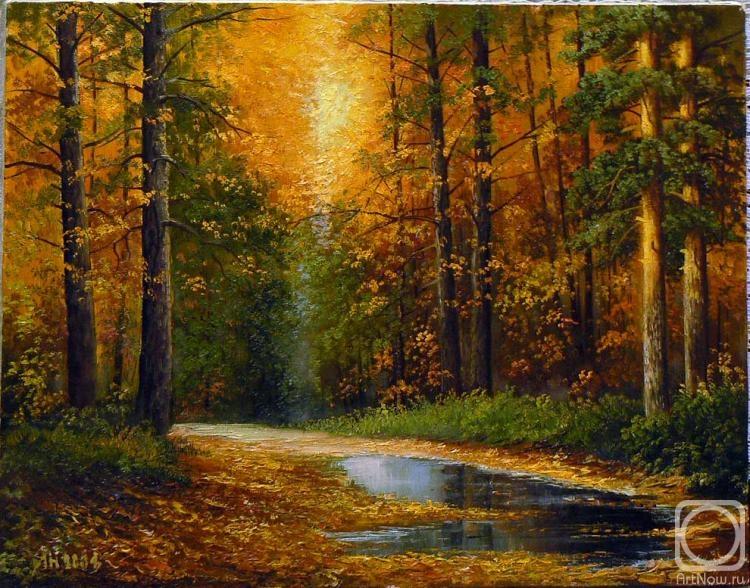 Пейзажи и натюрморты художника