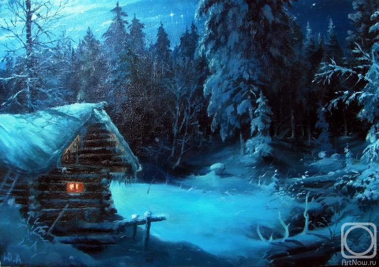 Картины художников зимовье в тайге