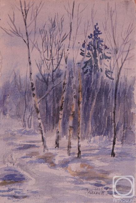 Лесохина любовь зимний лес