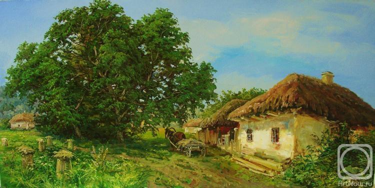 ... / Картины художника / Село летом: artnow.ru/ru/gallery/3/19193/picture/0/502752.html