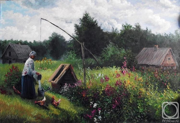 Янулевич геннадий деревенский пейзаж