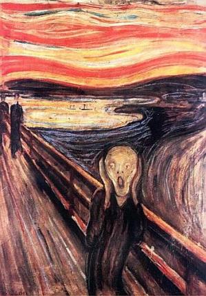 Вор, укравший картины Мунка, сам стал художником