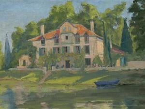 Картина кисти Уинстона Черчилля будет продана на аукционе