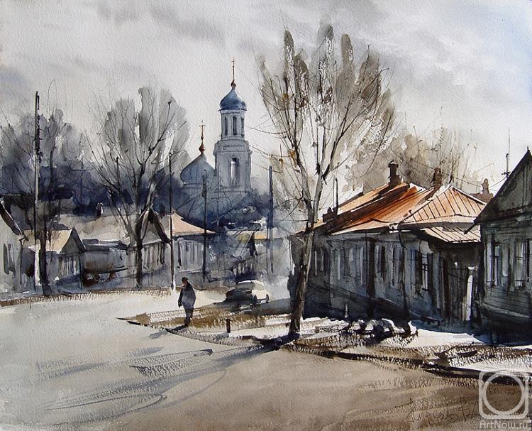 Курсеев Вячеслав. Саратов, Большая горная улица