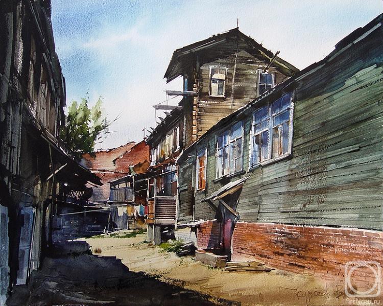 Курсеев Вячеслав. Саратовский дворик