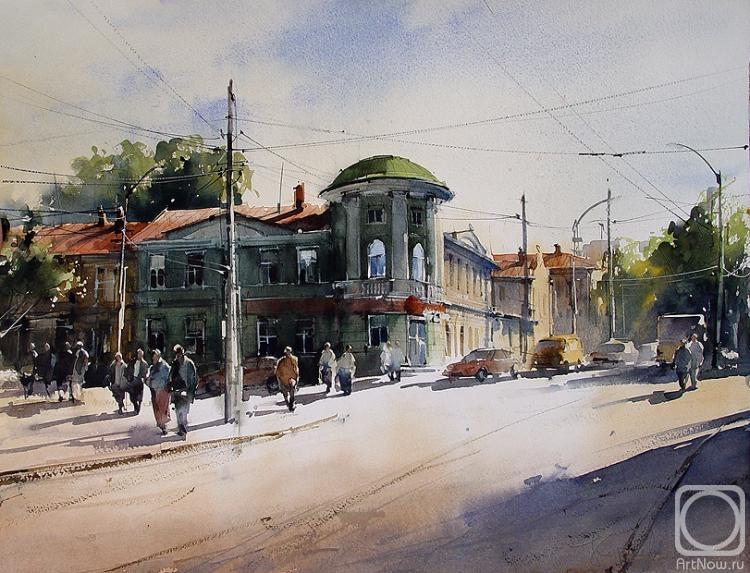 Курсеев Вячеслав. Купеческий дом