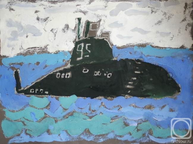 Новому году, детские картинки подводник