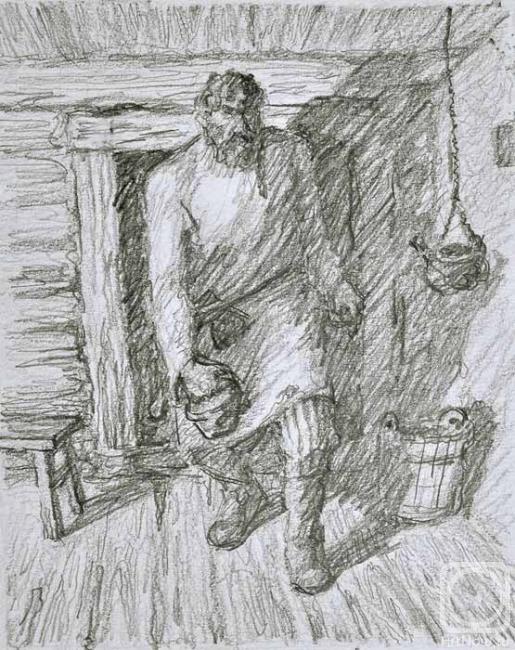 Картинка произведения тургенева бирюк
