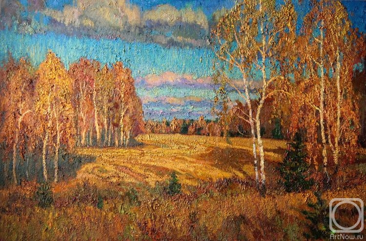 галереи картин художников осенний пейзаж