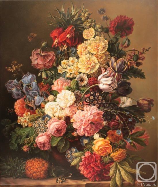 Картины букеты цветы
