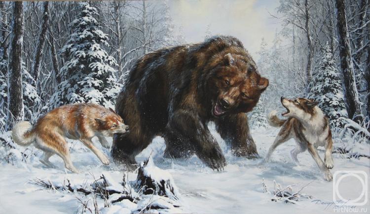 Данчурова Татьяна. Медведь и