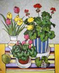 Калинкина Дина. Натюрморт с цветами