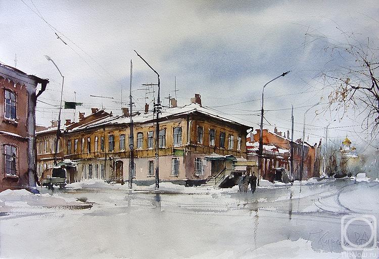 Курсеев Вячеслав. Цыганская улица