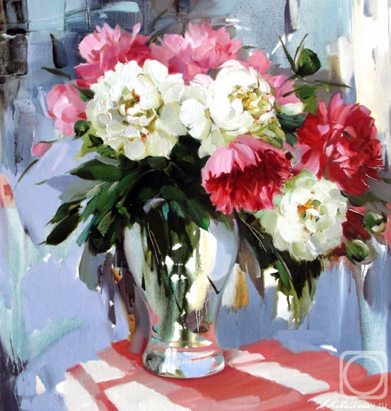 Избранное альбом цветы пионы