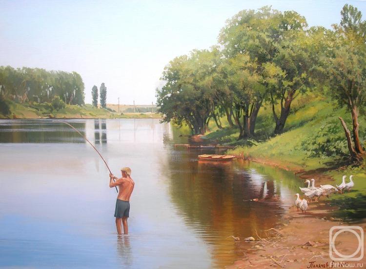 Палачев Вячеслав. На рыбалке
