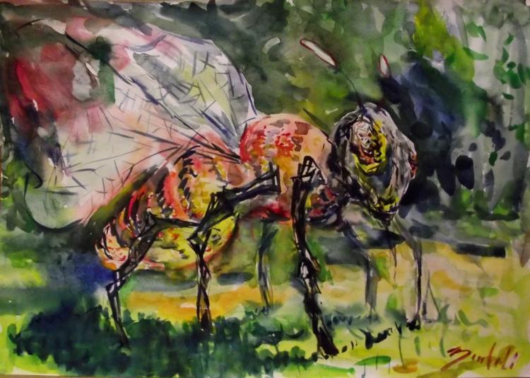Загорский сергей скульптура пчелы в