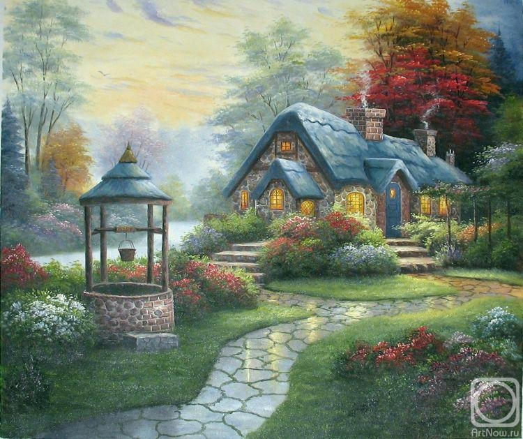 Кинкейд Томас. Коттедж исполняющий желания (Make a Wish Cottage)