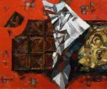 Натюрморт с шоколадом